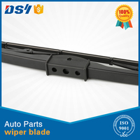 Universal bus and truck windscreen wiper blade with screw hooks