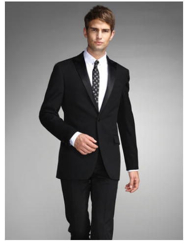 Italian Style Men's Tuxedo Slim Fit Wool Suits - Buy Suit,China
