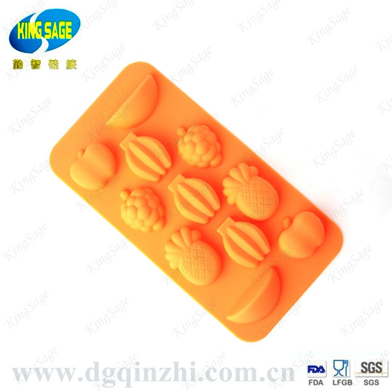 Banana shaped ice cube tray/silicone ice gel