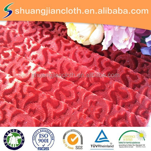wholesale market price 100% knittded Lurex woven fabric ,upholstery fabric, curtain velours