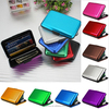 RFID Blocking Aluminum Card Wallet Waterproof