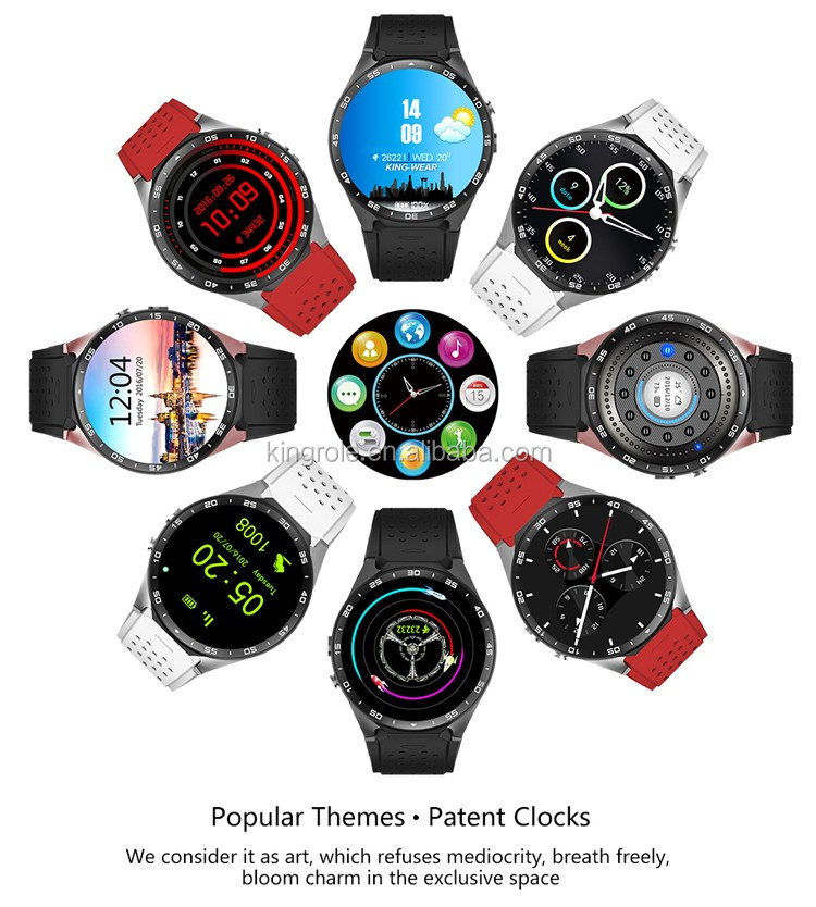 3g WiFi smart watch mobile watch phones for Android