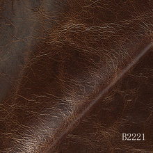 Buffalo leather with oil/wax treatment genuine furniture hide leather for indoor decoration upholstery