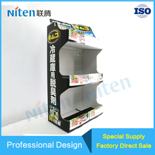 Customized merchandising display box, cell phone counter top retail display stands