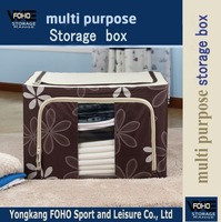 FH-CL0044 Economical waterproof sun flower collapsible storage box