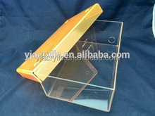 Clear acrylic shoe box with lid, shoe box packaging