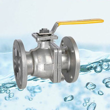 API6D Cast Steel Lever Operated Ball Valve