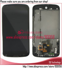for LG Nexus 4 Screen ,for LG E960 LCD with Touch Assembly black
