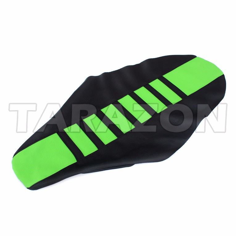 Aftermarket anti slip PVC motorcycle seat cover for KAWASAKI KXF250 450