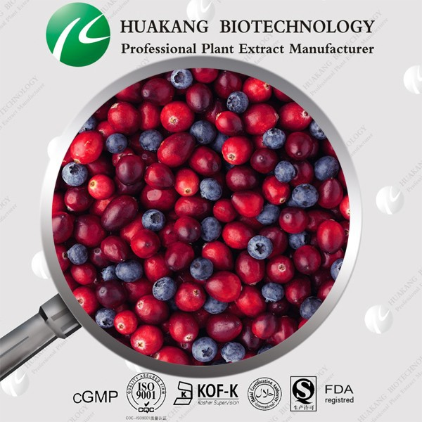 Halal Kosher Dry Cranberry Fruit Extract