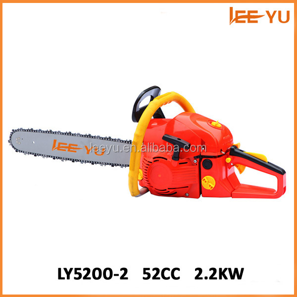 Hot sale 52CC chain saw machine price 52CC saw chain spare parts of chain saw