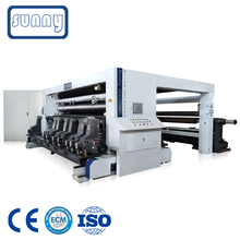Jumbo Roll Non Woven Fabric Slitting Machine with CE Certificate