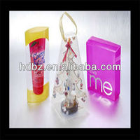 full colourful plastic box packing cosmetic box printing
