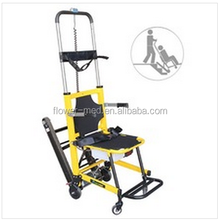 Electric evacuation chair, stair climbing stretcher