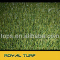 Non-flat residental turf for natural looking