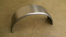 Cold Rolled Steel tractor front Trailer Fender For Single Axle
