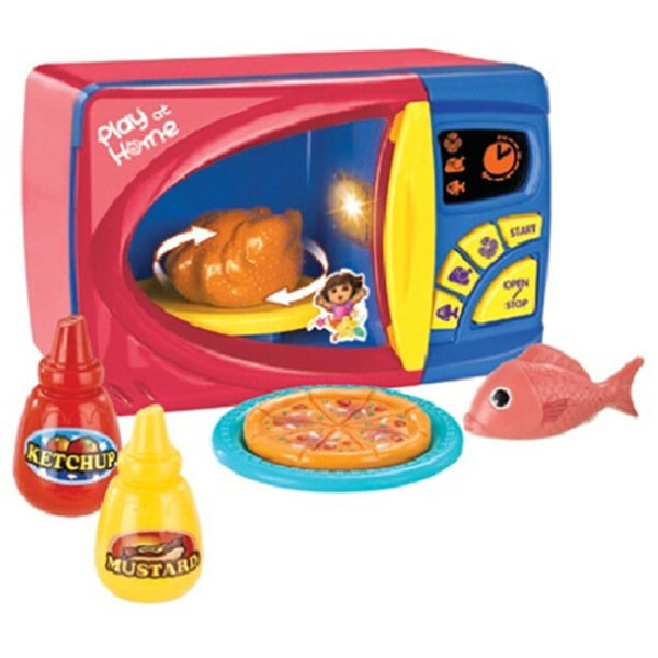 Little helper plastic toy microwave oven for sale
