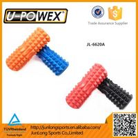 spiked yoga roller with lids compact and travel friendly eva foam roller exercise Grid foam roller
