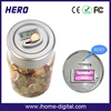 New design money container money saving money jar with LCD display