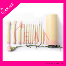 13pcs makeup brushes professional high quality synthetic hair gradual change color series make up brush with holder