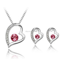Women crystal jewelry set with jewelry set for indian jewelry new york