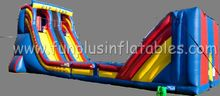 inflatable zip line,inflatable slide combo sport games F6007