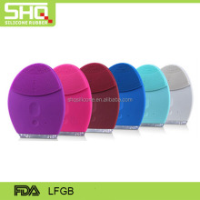 FDA/LFGB approval popular silicone facial cleansing brush