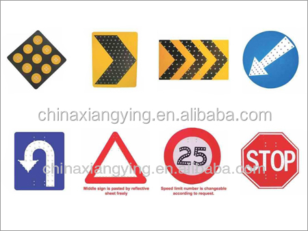 Latest design superior quality school bus stop printable traffic road sign