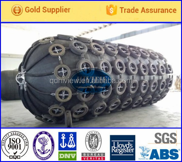 Inflatable floating marine boat pneumatic type rubber fender for ships & floating docks