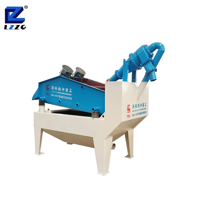 LZZG sand recycling system with single slurry pump