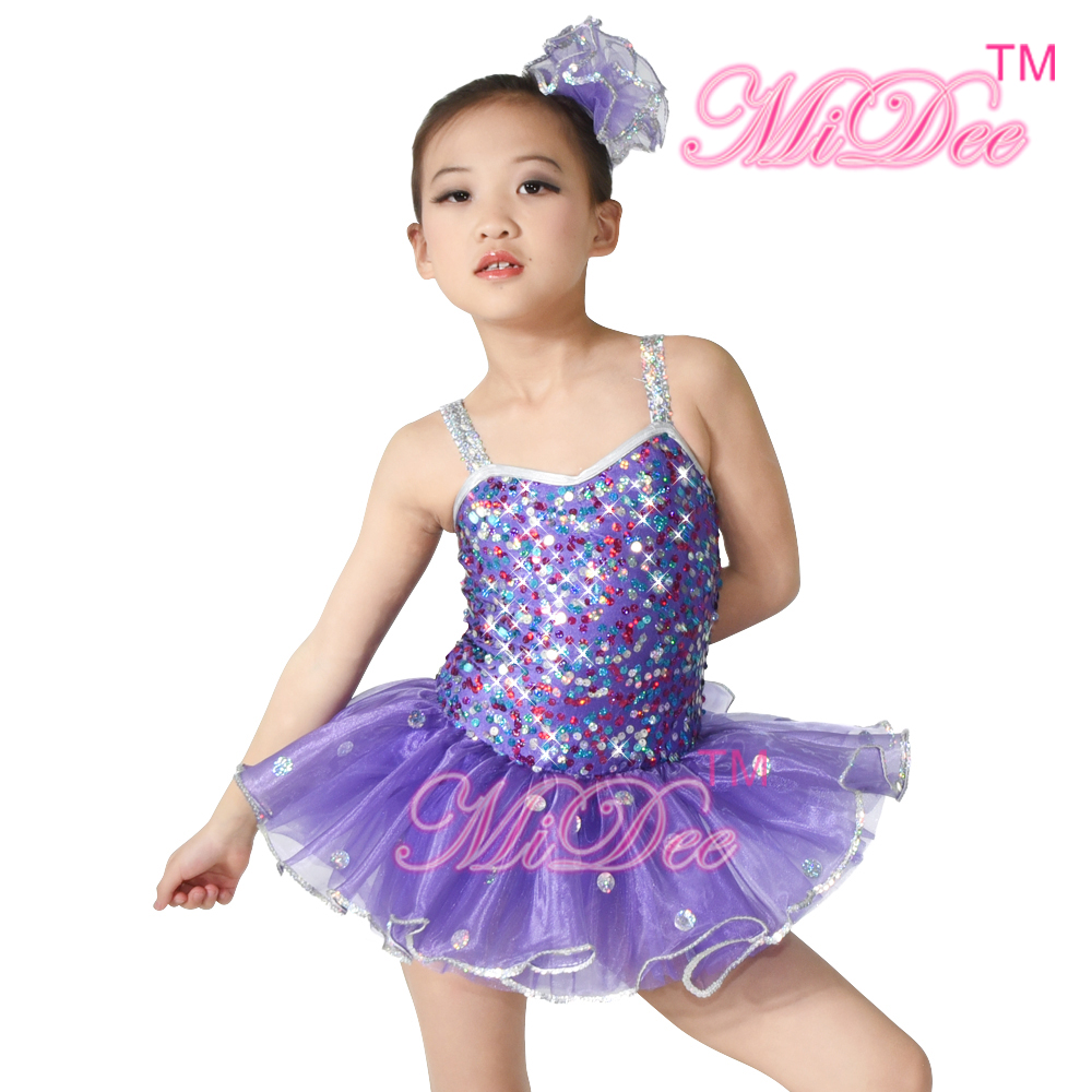 Pretty Sexy Girls Latin Tutu Dance Dress Children Ballroom Dance Wear