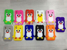 3D Cute Penguin Soft Silicone Case Cover Skin For Samsung Galaxy Ace S5830 Case