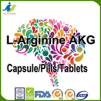 L-Arginine AKG capsule/powder Increases blood flow and nutrient delivery to muscle tissue.