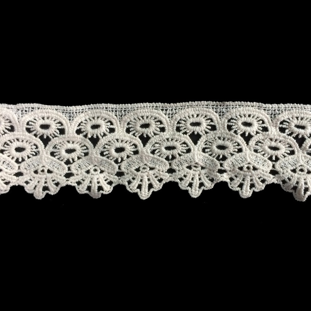 Indian style high quality 100% cotton lace material