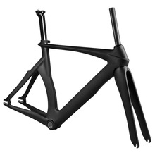 2016 YISHUN carbon frame 700C cycling frame chinese LCTR001 strong TRACK frame kit for sale