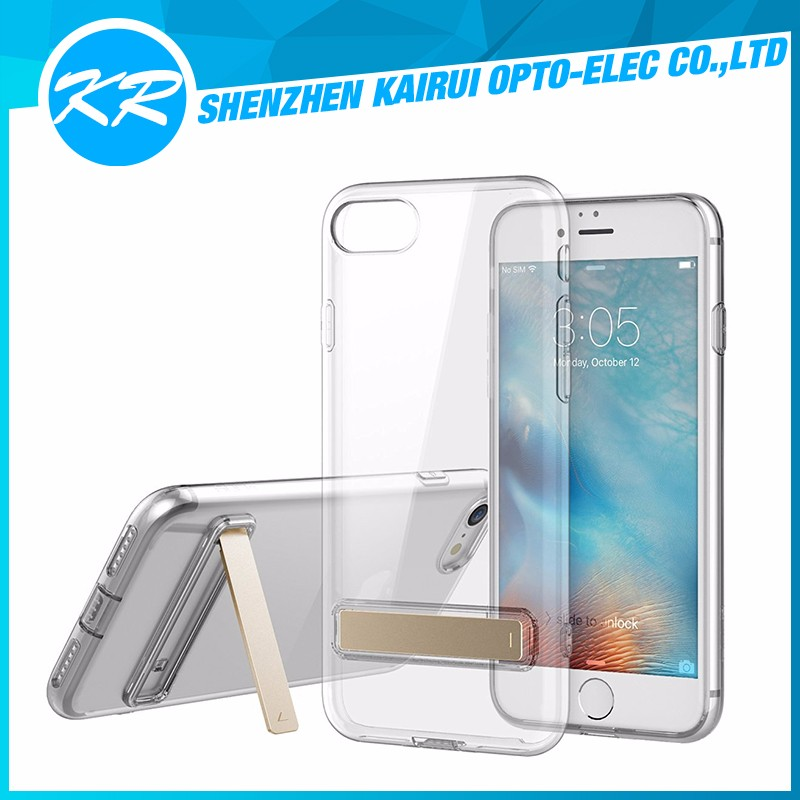 Ultra Thin Clear Soft Flexible Gel TPU Transparent Case for Apple iPhone 7 Plus