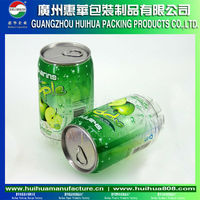 Plastice Cans for beverage PET drink Cans