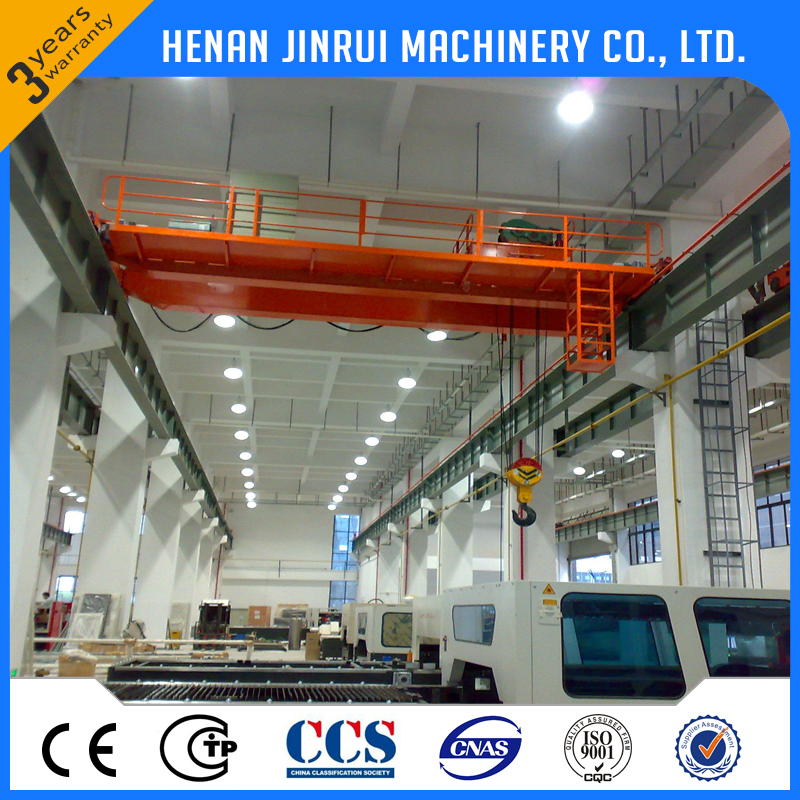 Heavy Lift 50 ton 100 ton Bridge Crane Electric Trolley Double Girder Overhead Crane Drawing