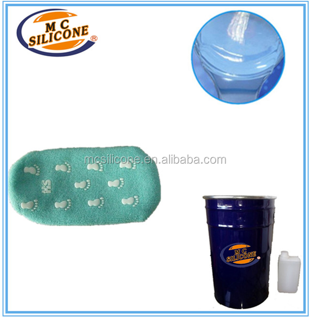 medical grade liquid silicone rubber for Coating on textile,cotton fabric mould making soft silicone rubber