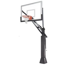 outdoor basketball hoop for custom basketball shoes with anchor bolt and polyester net