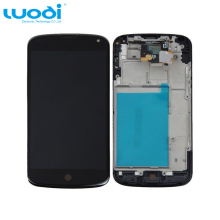 LCD Display Screen Touch Digitizer + Frame Assembly For LG Google Nexus4 E960