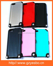 Fashion Plastic 3D Travel Suitcase Luggage Phone case for iphone 4/5/5s for samsung S4/S5/NOTE3