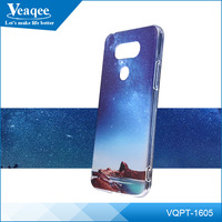 Veaqee custom clear heart transfer printing tpu waterproof phone cases