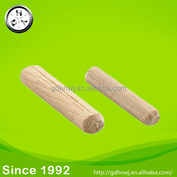 Furniture connector fittings M6 M8 M10 beach wooden dowel pin