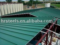 colored corrugated galvanized metal roofing