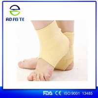 Hot new products for 2017 stretch fabric neoprene orthopaedic ankle support with strap