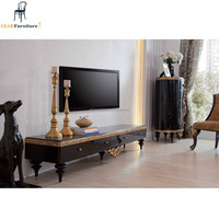 Empire Style Royal Wooden TV Rack Designs