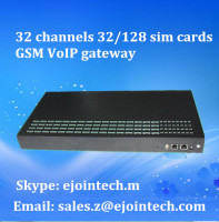 goip gateway 32 / 128 port gsm sim box with sms and voice function