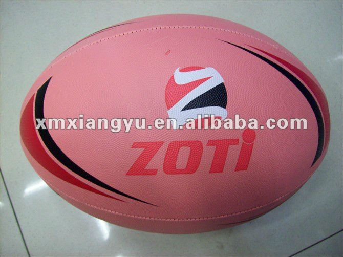 size 5 Machine Stitched Rubber Football/Rugby ball