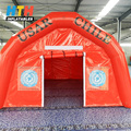 Portable inflatable golf hospital medical tent